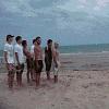 Bowling sur la plage