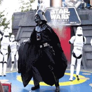 Dark Vador danse