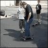 Skateboard ouch