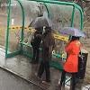 Se mettre à l'abri de la pluie