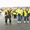 Gilet jaune danse