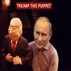 Poutine et sa marionnette Trump