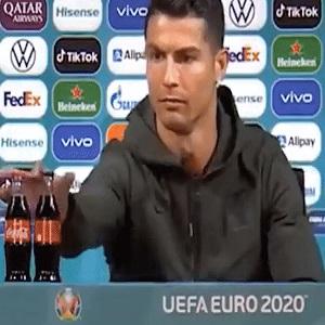 Cristiano Ronaldo vs Coca Cola