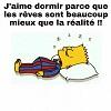 Bart et les rêves