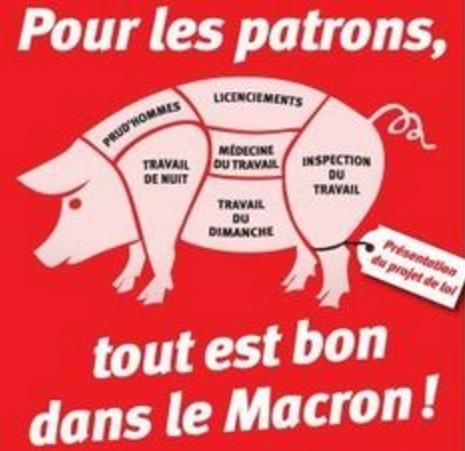 Tout est bon dans le Macron