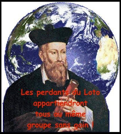 Nostradamus et le loto