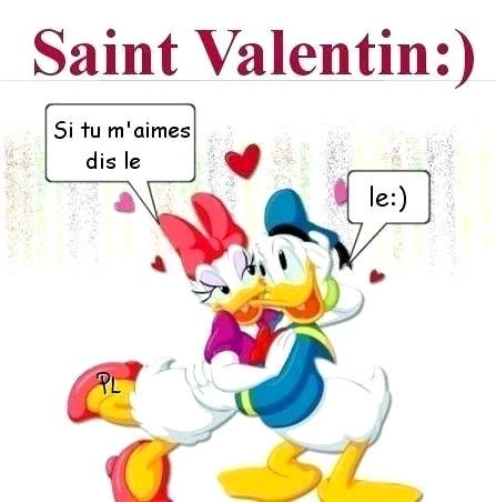 Saint-Valentin si tu m'aimes
