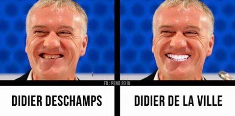 Didier Deschamps et de la ville