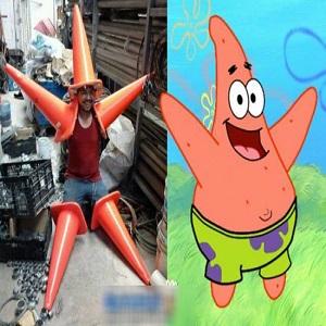 Cosplay Patrick l'étoile de mer