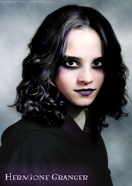 Hermione Granger gothique