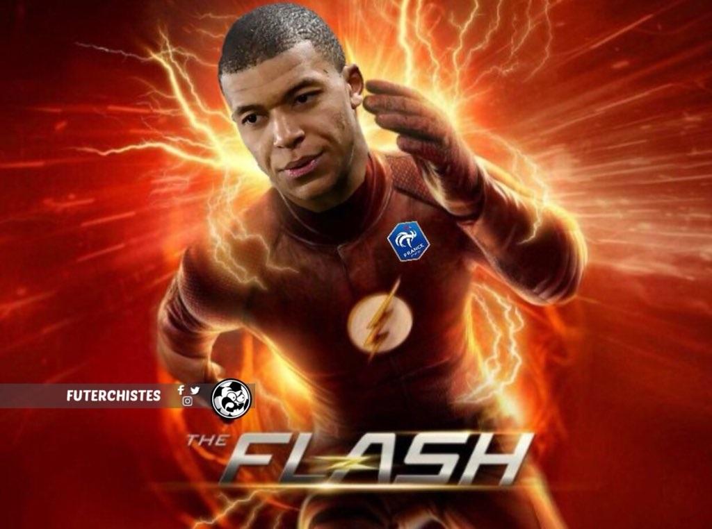 Mbappé The Flash