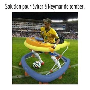 Neymar protection anti-chute
