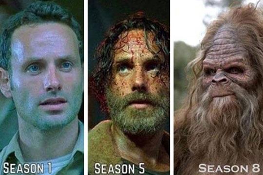 Rick Grimes évolution marrante
