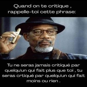 être critiqué