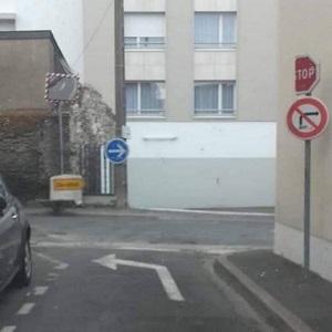 Panneau de circulation